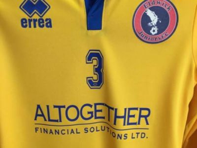 Altogether Financial are now the proud joint sponsors of the Under 9's Eldwick Football Team